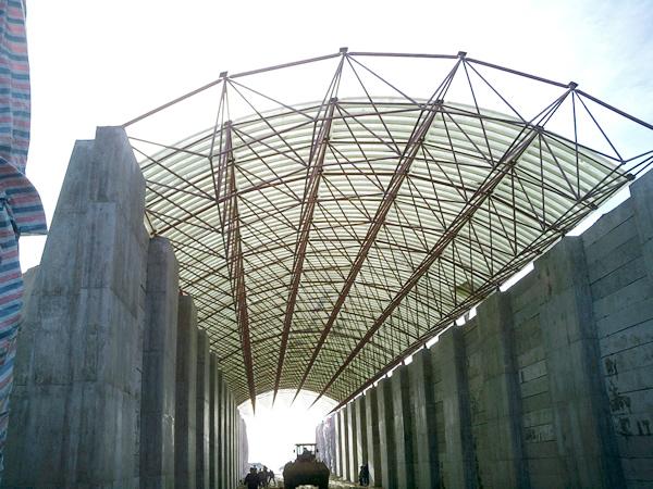 网架结构管